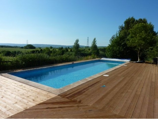Outdoor Garden Swimming Pools