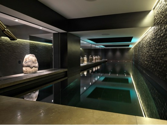 Indoor swimming pool pools for Pool room design uk